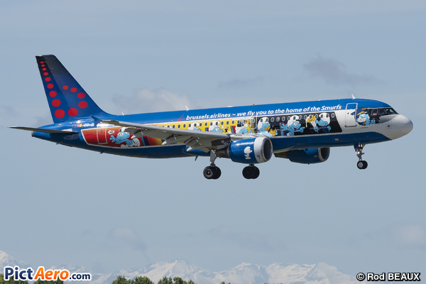 Airbus A320-214 (Brussels Airlines)