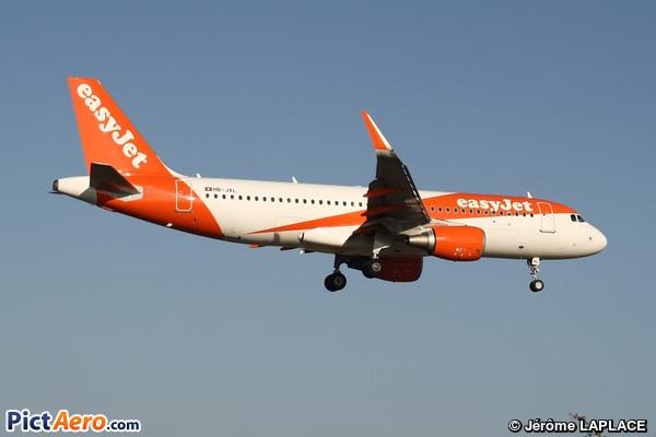 Airbus A320-214/WL (easyJet Switzerland)
