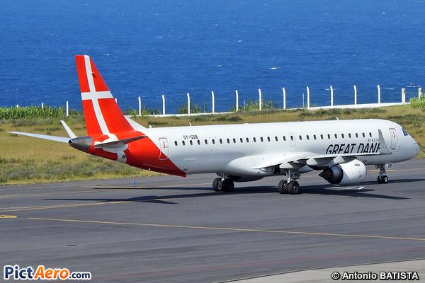 Embraer ERJ-190-200LR 195LR (Great Dane Airlines)