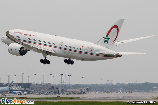 Boeing 787-8 Dreamliner (Royal Air Maroc (RAM))