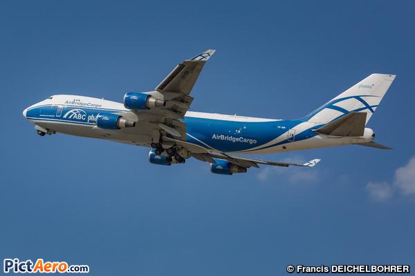Boeing 747-4HA/ERF (Air Bridge Cargo Airlines)