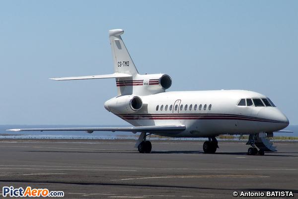 Dassault Falcon 900B (Heliavia - Transporte Aéreo)