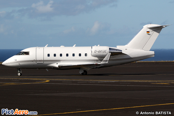 Canadair CL-600-2B16 Challenger 601-3R (Challenge Air)