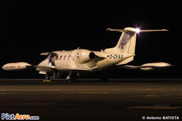 Learjet 60 (FAI Rent-a-jet)