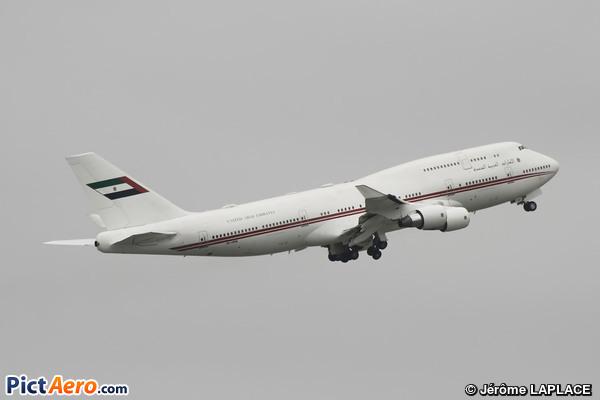 Boeing 747-422 (United Arab Emirates - Dubai Air Wing)