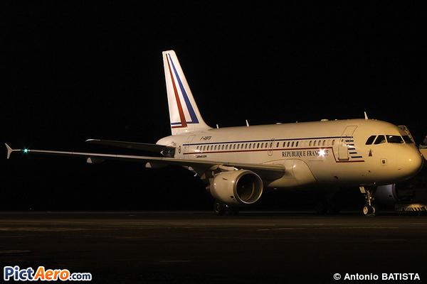 Airbus A319-115X/CJ (France - Air Force)