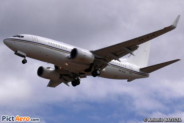 Boeing 737-72U/BBJ (Royal Jet)