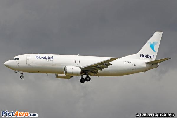 Boeing B-737.46B/SF Freighter (Bluebird Nordic)