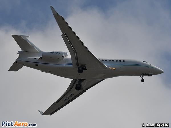 Dassault Falcon 7X (Tag Aviation Asia)