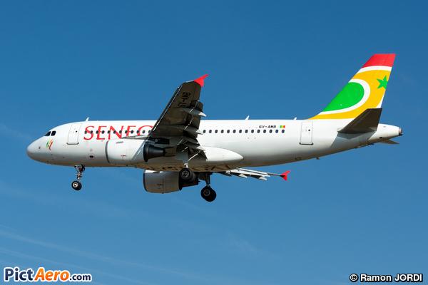 Airbus A319-111 (Air Senegal)
