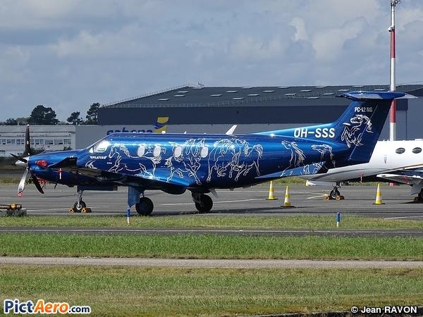 Pilatus PC-12/47E (Hendell Aviation Oy)