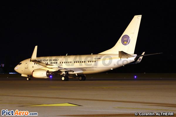 Boeing 737-7BC/BBJ (Mali - Government)