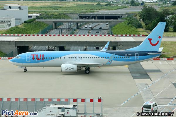 Boeing 737-86J/WL (TUI Airlines Belgium)