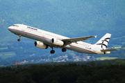 Airbus A321-232 (SX-DVZ)